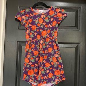 LULAROE Flower dress 🌸 🌺 🌹 size 8